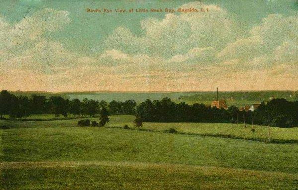 littleneckbridgetrolleypostcard