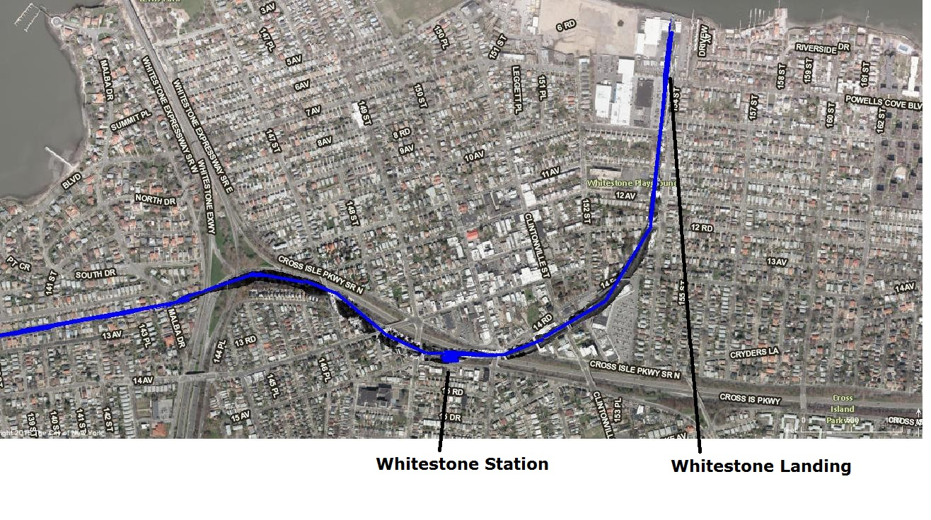 Tracing Out The LIRR Whitestone Branch | LI & NY Places that are no more